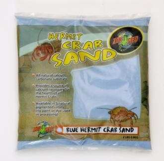 Zoo Med, Hermit Crab Sand, - Blue