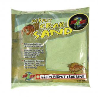 Zoo Med, Hermit Crab Sand, - Green