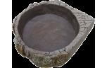 EuroZoo, Hatchling Dish, water-voerbak, klein, 11 x 10 x 2.5 cm