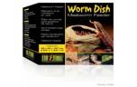 Exo Terra Worm Dish, Mealworm Feeder