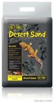 Exo Terra Desert Sand, Black 4,5 kg