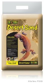 Exo Terra Desert Sand, geel 4,5 kg