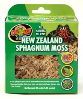 Zoo Med, New Zealand mos, (sphagnum mos,), 1,31 liter