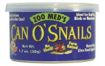 Zoo Med, Can O' Snails (25-30 per can), 50g