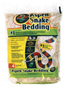 Zoo Med, Aspen Snake Bedding, 4,4L