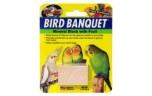 Zoo Med, Bird Banquet Block Fruit Formula klein