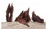 Aquarium driftwood M, prijs per 20